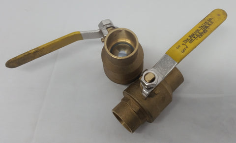 "3/4"" Sweat Ball Valve~~Box of 4"