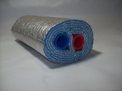 Insulated Pipe 5 Wrap 1' Non Oxygen Barrier (2-1' lines) - No Tile