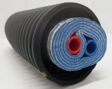 Insulated Pipe 5 Wrap 1' Rehau Non Oxygen Barrier (2-1' lines)