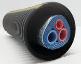 Insulated Pipe 3 Wrap, (2) 1 1/4' Non Oxygen Barrier (1) 1/2' Non Oxygen Barrier lines