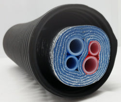 5 Wrap Insulated Pipe (4) 1' Non Oxygen Barrier lines