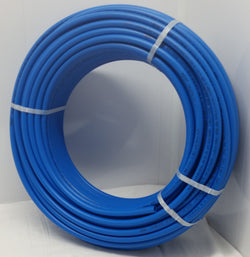 1' - 100' coil - BLUE Certified Non-Barrier PEX Tubing Htg/Plbg/Potable Water