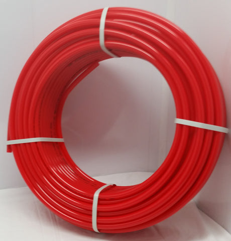 1' - 100' coil - RED Certified Non-Barrier PEX Tubing Htg/Plbg/Potable Water