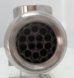 600,000 BTU Titanium Tube & Shell Heat Exchanger for Saltwater Pools/Spa os