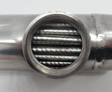 85,000 BTU Stainless Steel Tube and Shell Heat Exchanger for Pools/Spas os