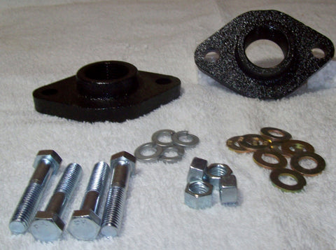 "1"" Cast Iron Flange Set"