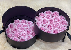Scented Soap Lavender Rose In Elegant Double Gift Box