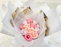 Flovery's Scented Soap Rose Bouquet