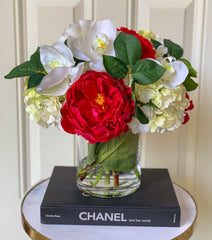 Large All Real Touch Flowers Arrangement - Flovery