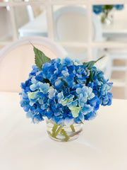Real Touch Blue Hydrangea Arrangement For All Occasion - Flovery