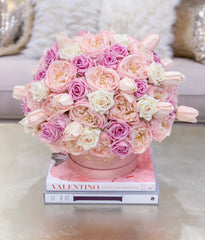 Luxury Large Finest Real Touch Flowers Arrangement