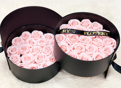 Scented Soap Flovery Pink Rose In Elegant Double Gift Box - Flovery