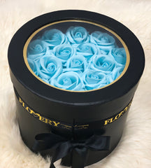 Premium Scented Soap Tiffany Roses In Elegant Double Box - Flovery