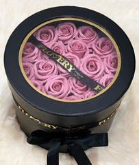 Scented Soap Sweet Pink Rose In Elegant Double Gift Box - Flovery