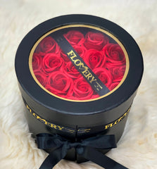 Premium Scented Soap Red Rose In Elegant Double Gift Box