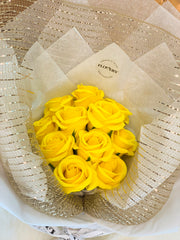 Flovery's Scented Soap Roses Bouquet - Flovery