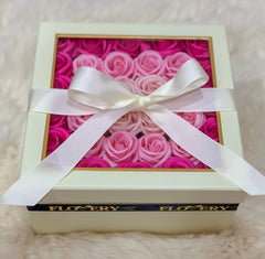Premium Scented Soap In Beige Gift Box - Flovery