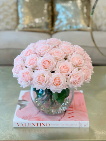 Real Touch Rose Flower Arrangement