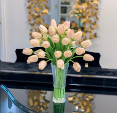 Large Centerpiece Tulip - Spring Flowers Arrangement - Flovery