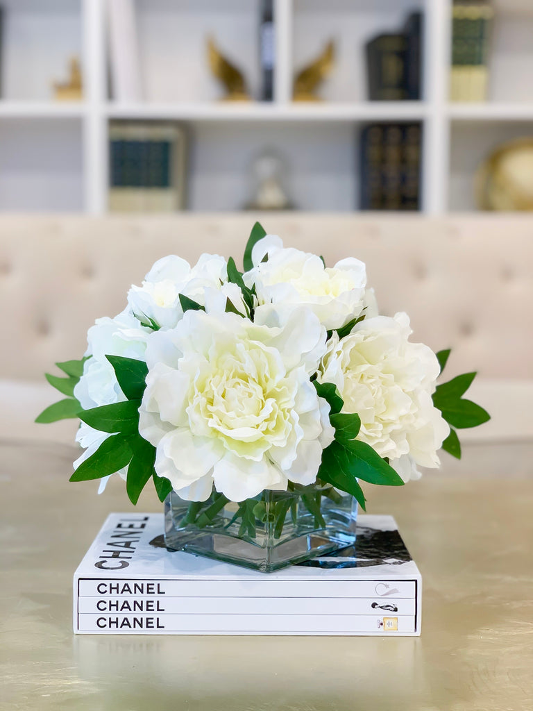 Real Touch Peony Arrangement-Real Touch Flower Arrangement-Large Peony –  Flovery