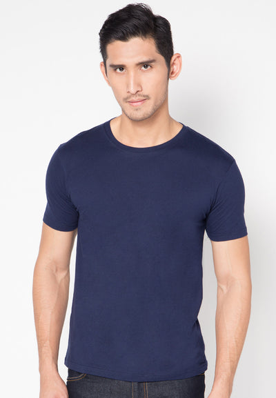 Qlassuale Basic T-Shirt - Navy