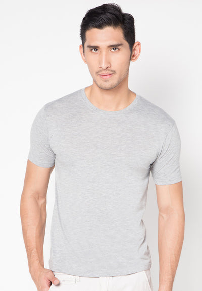 Qlassuale Basic T-Shirt - Grey
