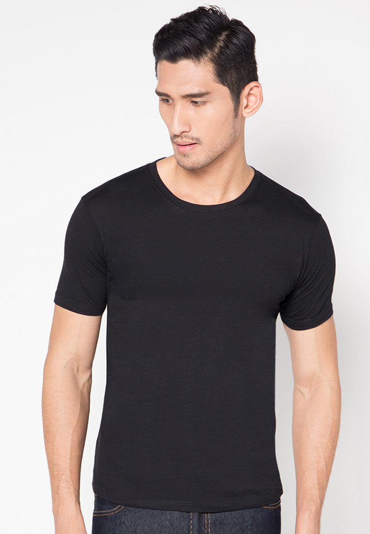 Qlassuale Basic T-Shirt - Black