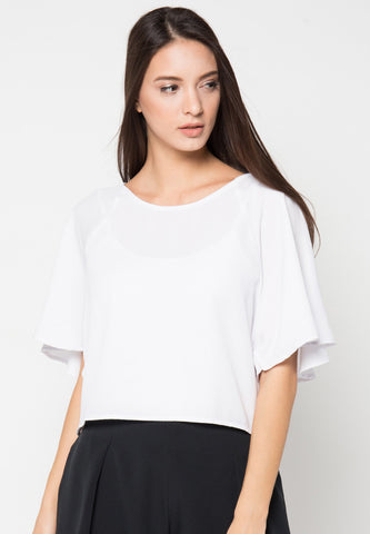 Marrie Blouse - White