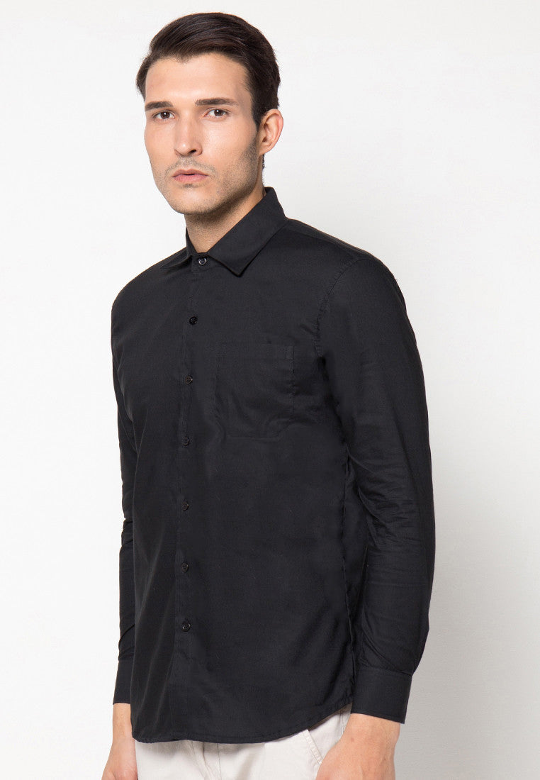 Basic Qlassuale Shirt - Black