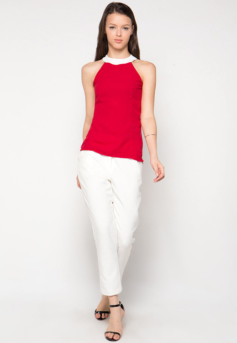 Talisa Blouse - Red