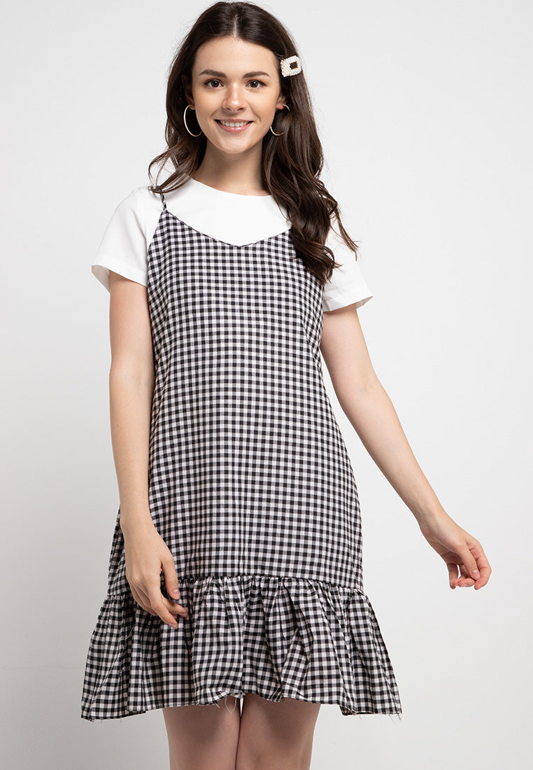 Gingham Dress / Outer