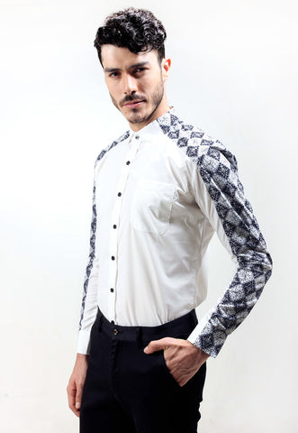 Judge.Man Lancel Shirt - White