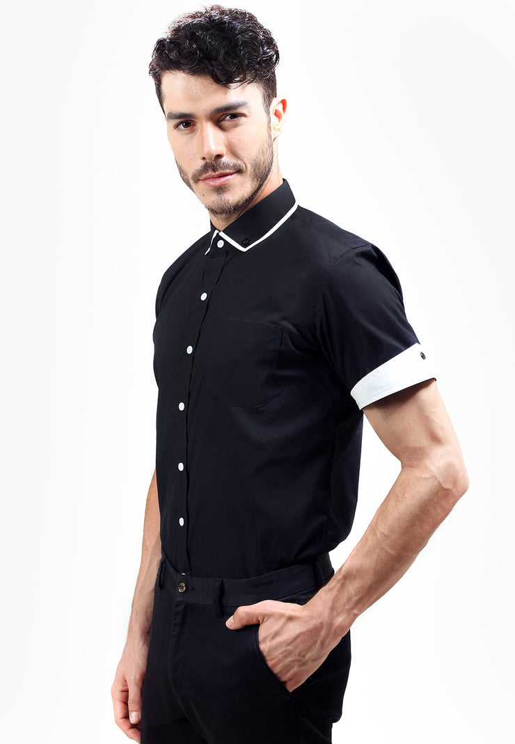 Judge.Man Davos Shirt - Black