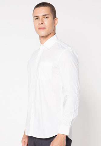 Basic Qlassuale Shirt - White