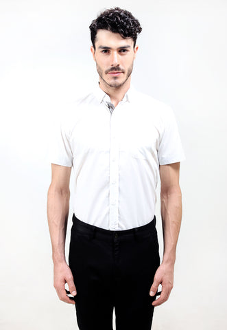 Judge.Man Snow Oxford Shirt - White