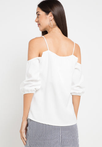 Strappy Top - White