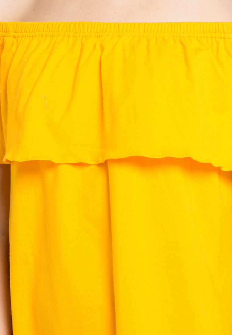 Sabrina Dress - yellow