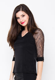 Lyanna Top - Black