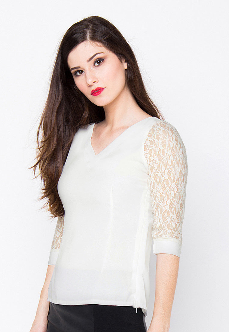 Lyanna Top - White