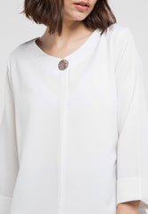 Basic Blouse with button detail