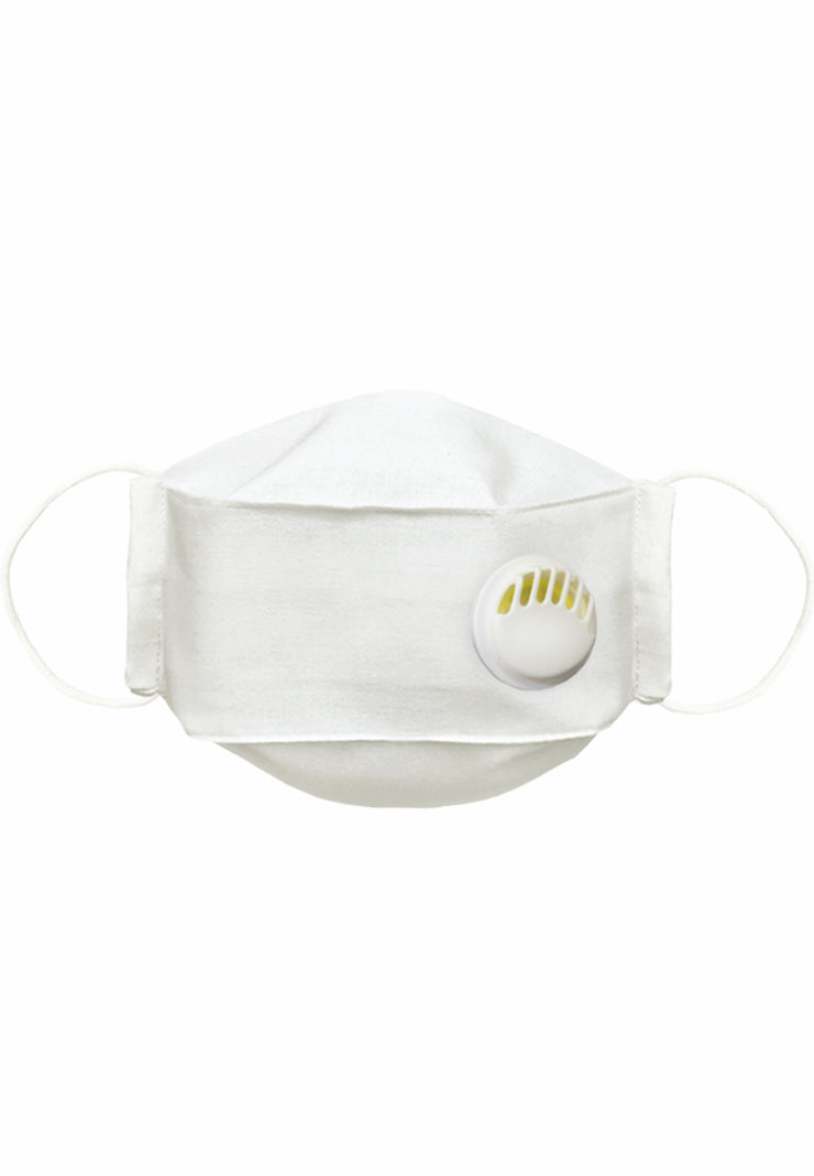 Q95 With Filter + Breathing Valve - MEN / LARGE - White