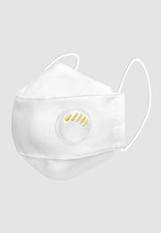 Q95 With Filter + Breathing Valve - White