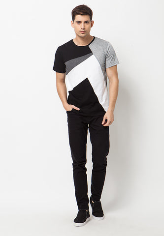 Polligon T-Shirt - Black