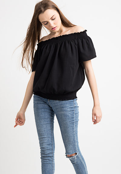 Curl Top - Black