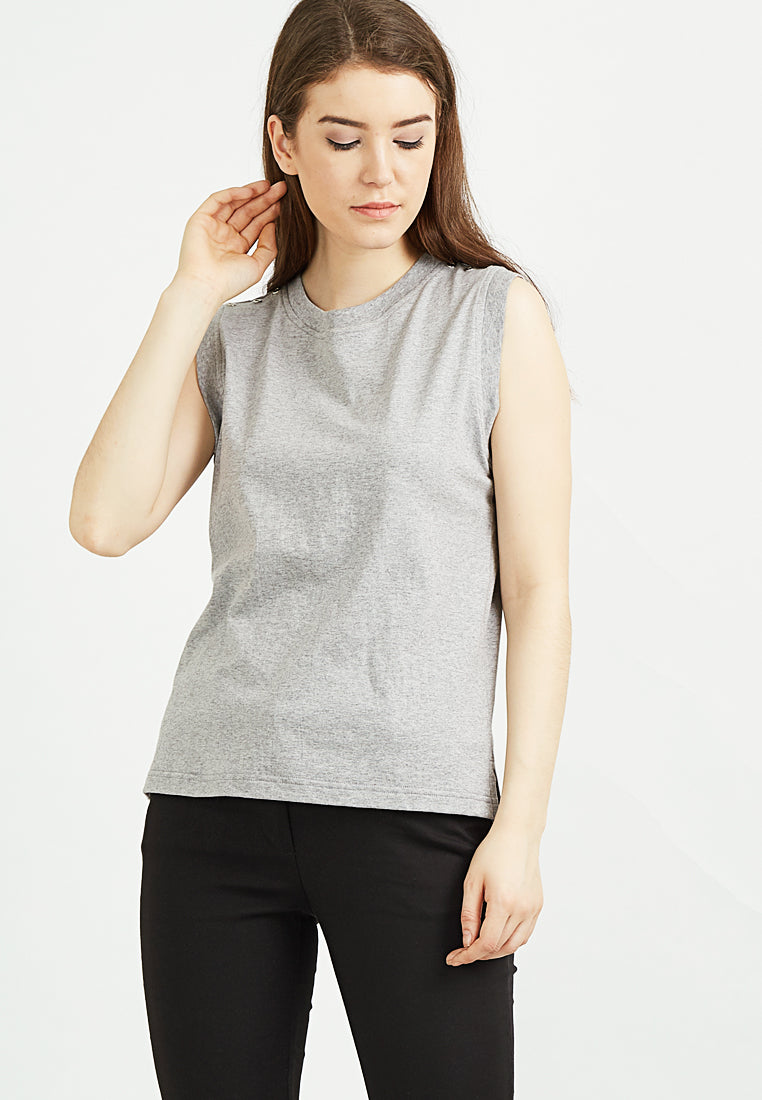 Hype Basic Tank - Grey Misty