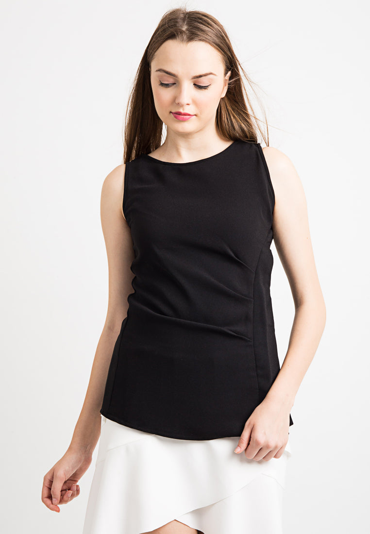 Sleeveless Lined Top