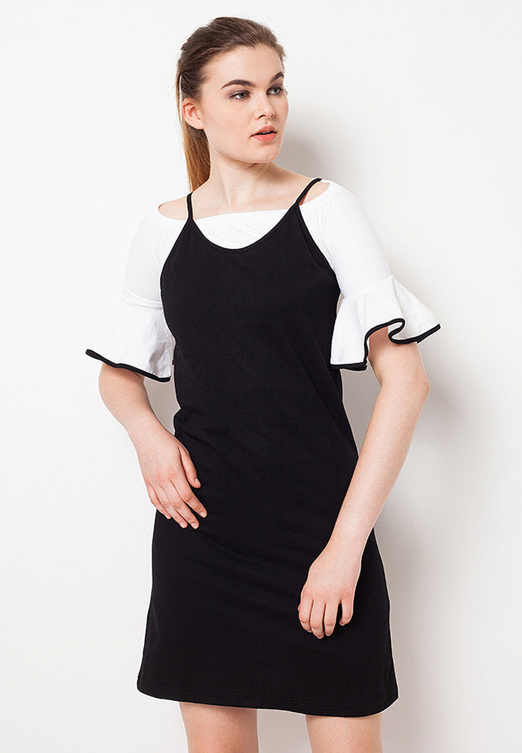 Summer Midi Dress - Black