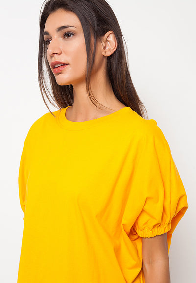 Bat Tee - Yellow