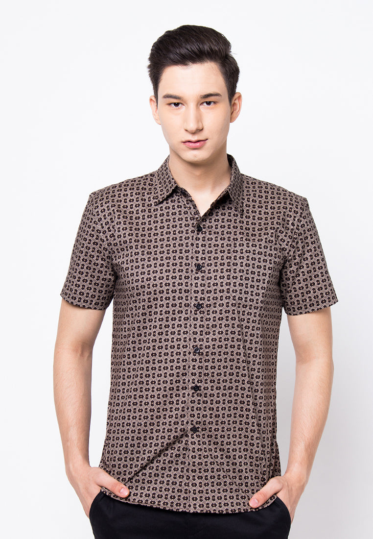 Cover 9 - Printed Shirt Brown