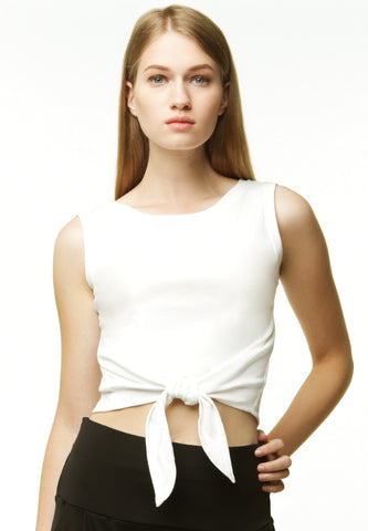 Knotted Crop tank